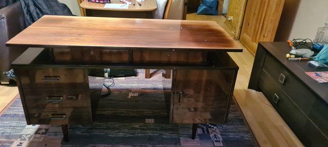 Stare biurko PRL