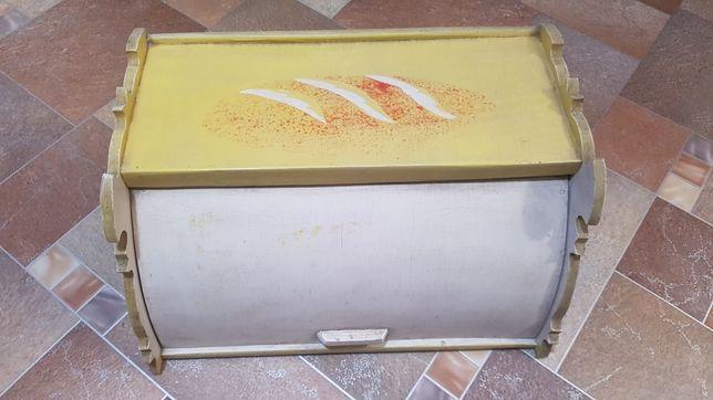 Деревянная хлебница СССР