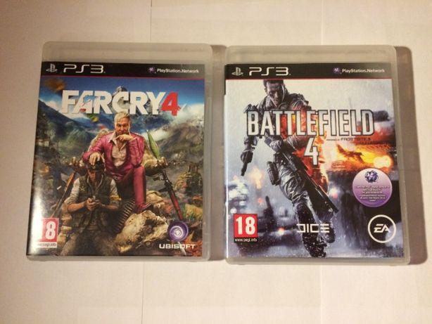 Farcry 4 Ps3 + Battlefield 4 Ps4 Zestaw