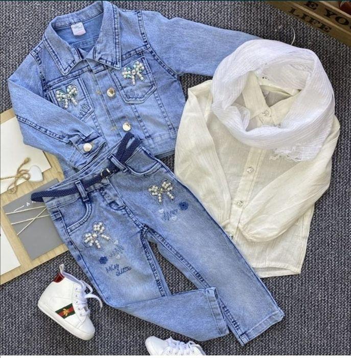 Продам джинсовий костюм Бровары - изображение 1