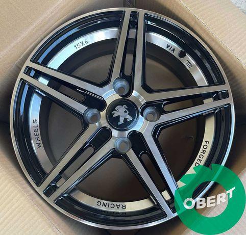 Новые диски 4*108 R15 на Citroen C3 C4 Berlingo Peugeot 301 Partner
