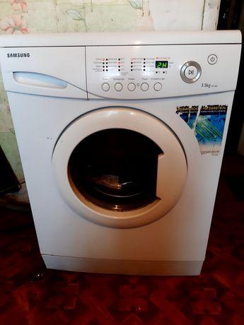 Узкая стиральная машинка 35см 3.5 кг Samsung