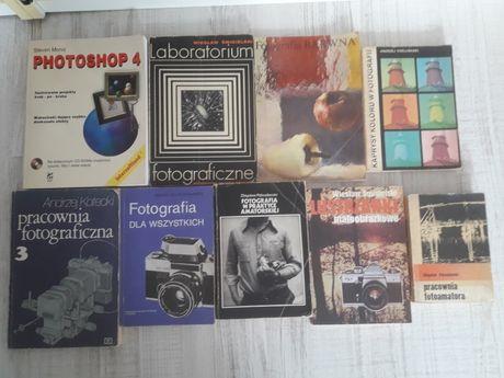 Książki o fotografii  - 8 szt.
