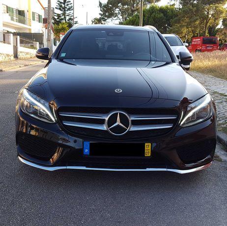 Mercedes C220 CDI Bluetec Station AMG