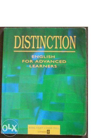 Distinction English for Advanced Learners dwa podręczniki po 20 zł