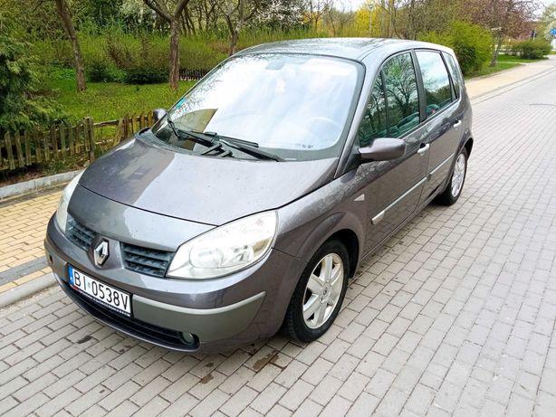 Renault Megane scenic 2003 stan bdb 1.6 16v klimatronik długie opłat
