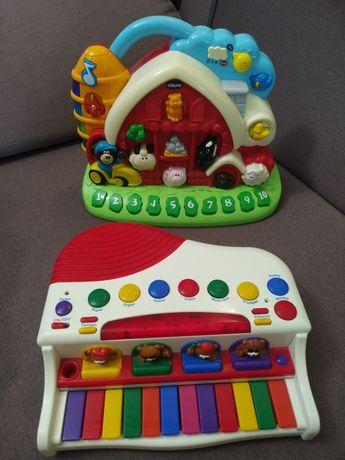 Развивающие музыкальные игрушки фирмы Chicco