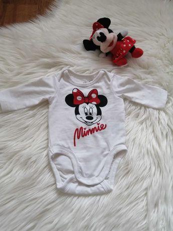 Body H&M Minnie Dziewczynka 50 Idealne!