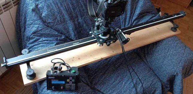 Slider Varanus 120 cm z napędem, z obrotową głowicą,.