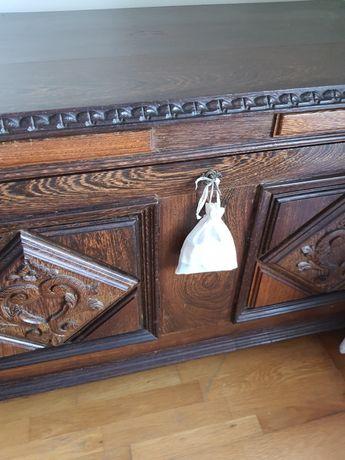 Arca de madeira maciça mt estimada