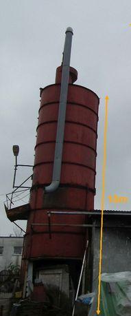 Zbiornik stalowy 10m x 3m średnicy na trociny, materiał sypki, pasza