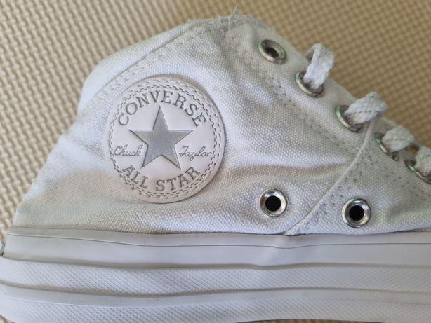 Converse trampki białe nowe 37,5