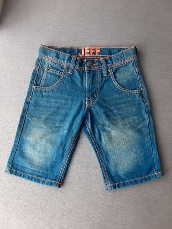 Jeff Spodenki jeans szorty dla dziewczynki rozm. 140
