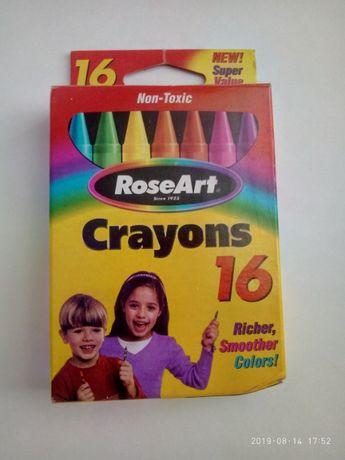 Восковые карандаши Crayons RoseArt 16
