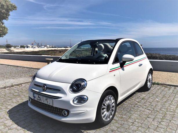 Fiat 500C Itália automatico 12 000km