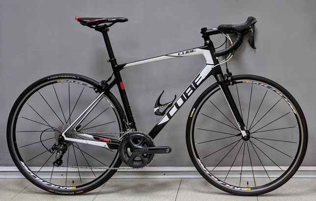 Шоссейный карбоновый велосипед Cube Attain GTC Race p.56 (шосейний)