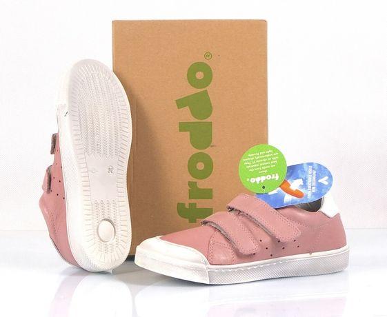 FRODDO Nowe Buty Sneakersy Na Dziewczynkę Skórzane Dziecięce 30