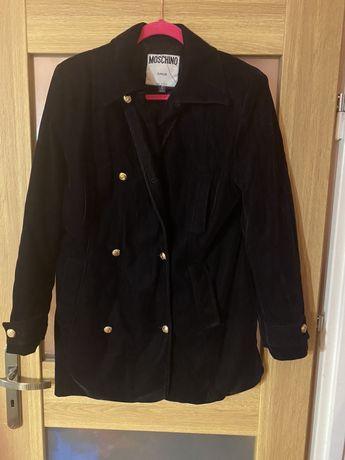 Oryginalny płaszcz Moschino
