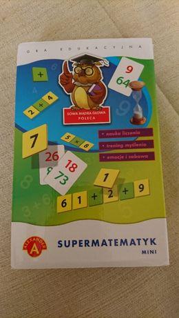 Alexander Gra Edukacyjna Supermatematyk Mini