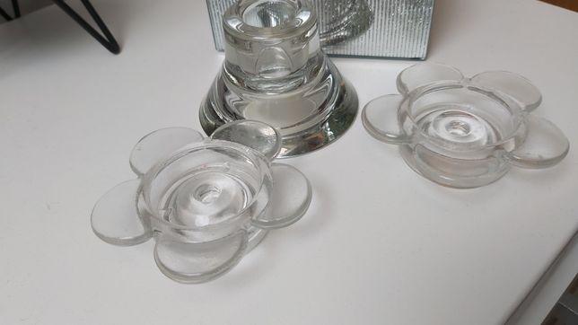 Świecznik ,świeczniki szklane