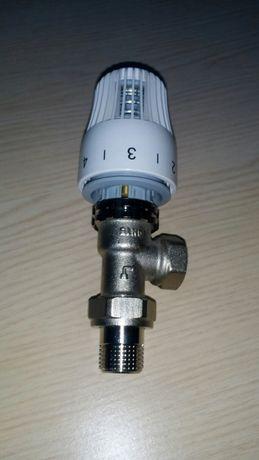 Кран(клапан) угловой термостатический RTL с термоголовкой