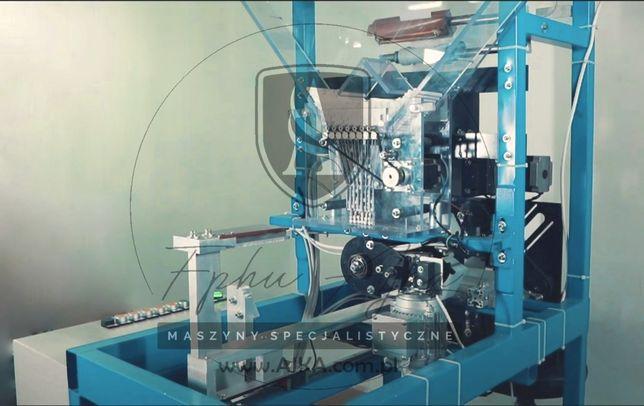 Nowa maszyna do pakowania papierosów w sreberko + paczkarka