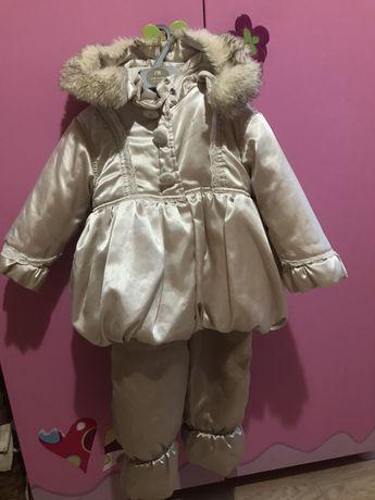 Комплект зимний на девочку wojcik  на   1,5-2 года