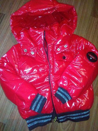 Курточка для девочки р. 134