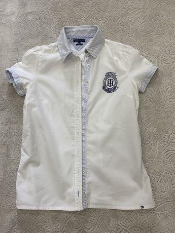 Рубашка поло тениска женская tommy hilfiger