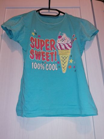 Koszulka niebieska na 9 lat
