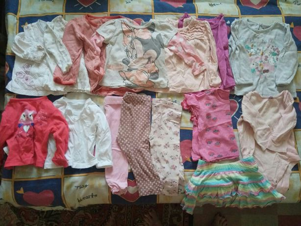 Пакет вещей на ребенка 6-12 месяцев