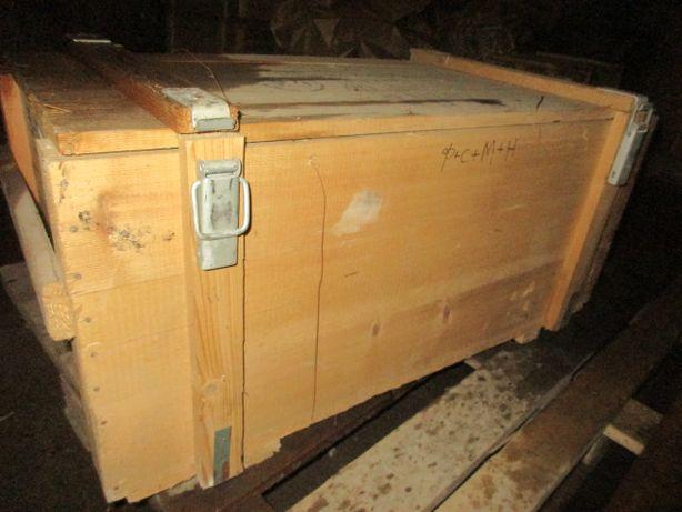 Ящик деревяний з кришкою для перевозки домашніх тварин
