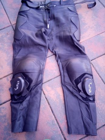 Spodnie motocyklowe skóra