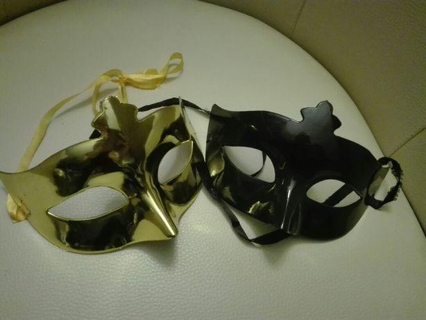 Maska złota, czarna bal, Grey, 365 dni :)