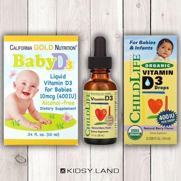 Детский витамин Д3, D-3, ChildLife, California Gold, IHERB Днепр - изображение 1