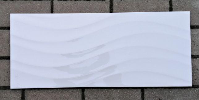 Płytka ścienna White Glossy Onda 25x60 Gat.2