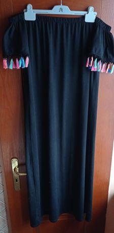 Sukienka damska długa hiszpanka rozmiar 40 małe 42