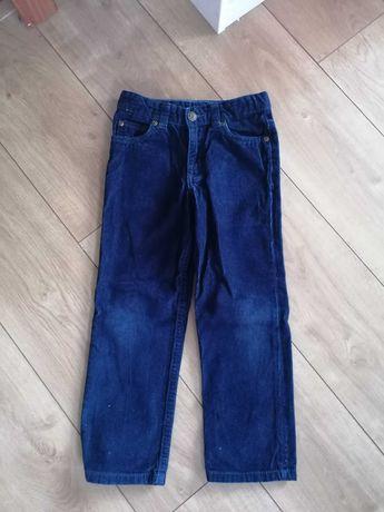 Spodnie sztruksowe Carter's r. 116 6lat
