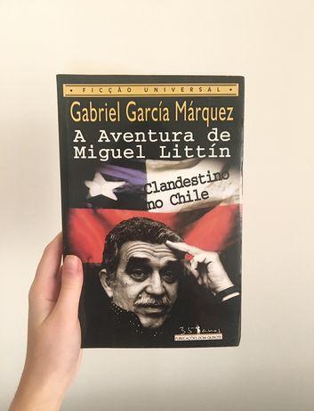 """Livro """"A Aventura de Miguel Littín"""" de Gabriel García Márquez"""
