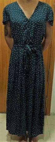 Lindo vestido comprido da OYSHO tam L/XL - Impecável