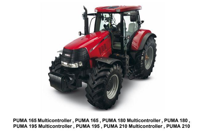 CASE Puma 165, 180, 195, 210 Instrukcja Napraw J POLSKI!