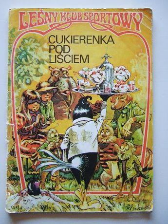 """Komiks Leśny Klub Sportowy """"Cukierenka Pod Liściem"""""""