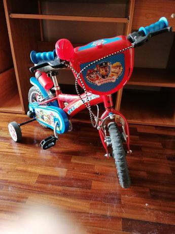 Bicicleta Patrulha Pata 3 a 5 anos