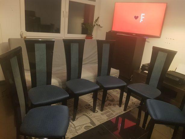 Krzesło kuchenne ,pokojowe, drewniane, lakierowane