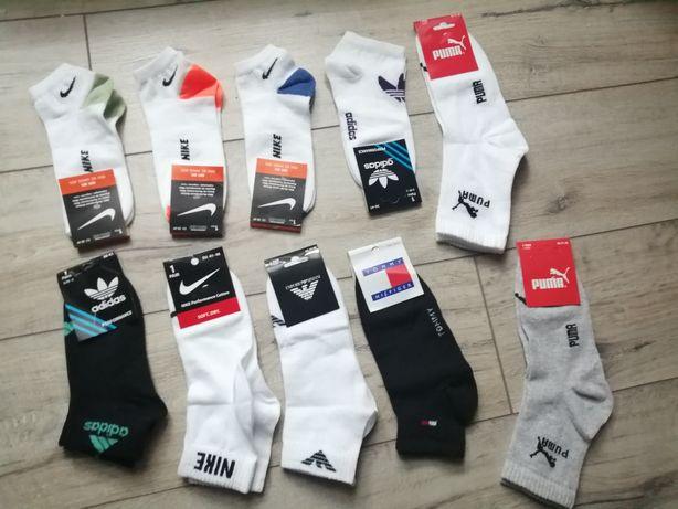 Skarpetki Nike Adidas Puma Armani