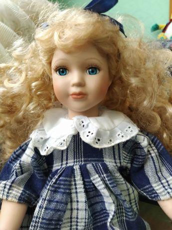 Винтажная фарфровая кукла  janus nostalgie collection