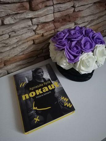 "Książka autobiograficzna ""Nokaut"" A. Rylik"