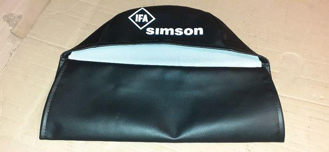Pokrowiec siedzenia Simson s50 s51 jak ORYGINAŁ!