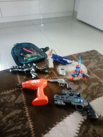 Zestaw pistoletów dla chłopca+Gratis