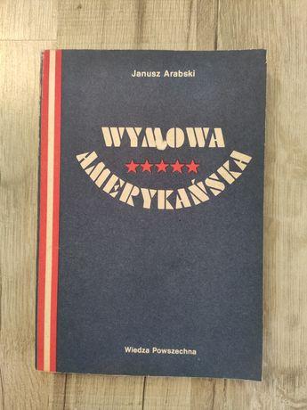Wymowa amerykańska Janusz Arabski